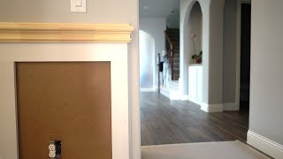 How to End Wainscot at a Corner