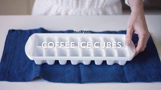 Coffee Ice Cubes Recipe