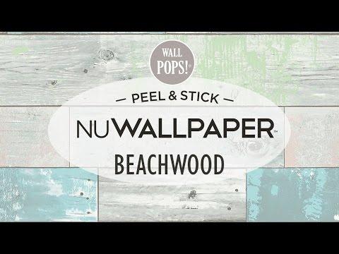 Beachwood Peel & Stick NuWallpaper