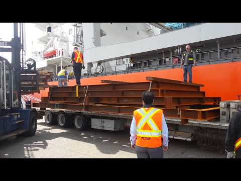 DIRECT DISCHARGE FROM VESSEL TO TRUCK