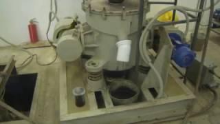 Випробування вертикальної вибромельницы