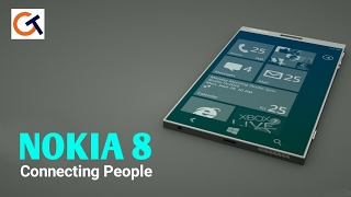 NOKIA 8 First Look | 22.3MP Camera | 6GB RAM and 128GB ROM
