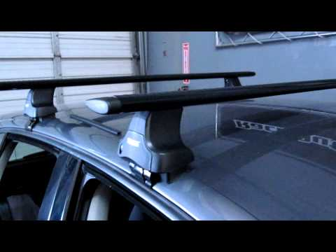 Volkswagen Golf with Thule Rapid Traverse Black AeroBlade Base Roof Rack by Rack Outfitters