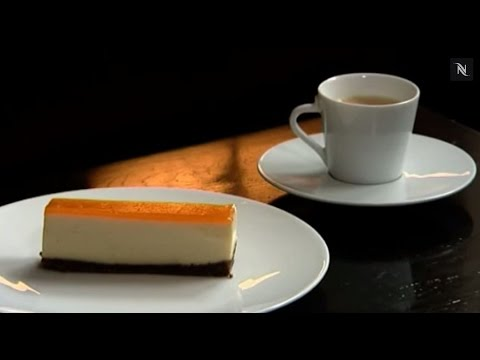 Chef Phil Howard - Brillat Savarin Cheesecake with Volluto Crust and Apricot Glaze