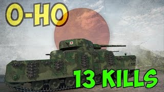 O-Ho - 13 kills - 6.476 DMG - World of Tanks