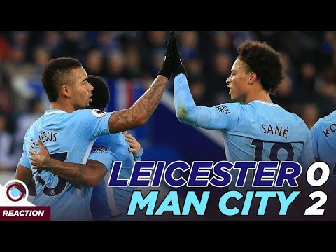 Leicester City 0-2 Man City | MATCH REACTION