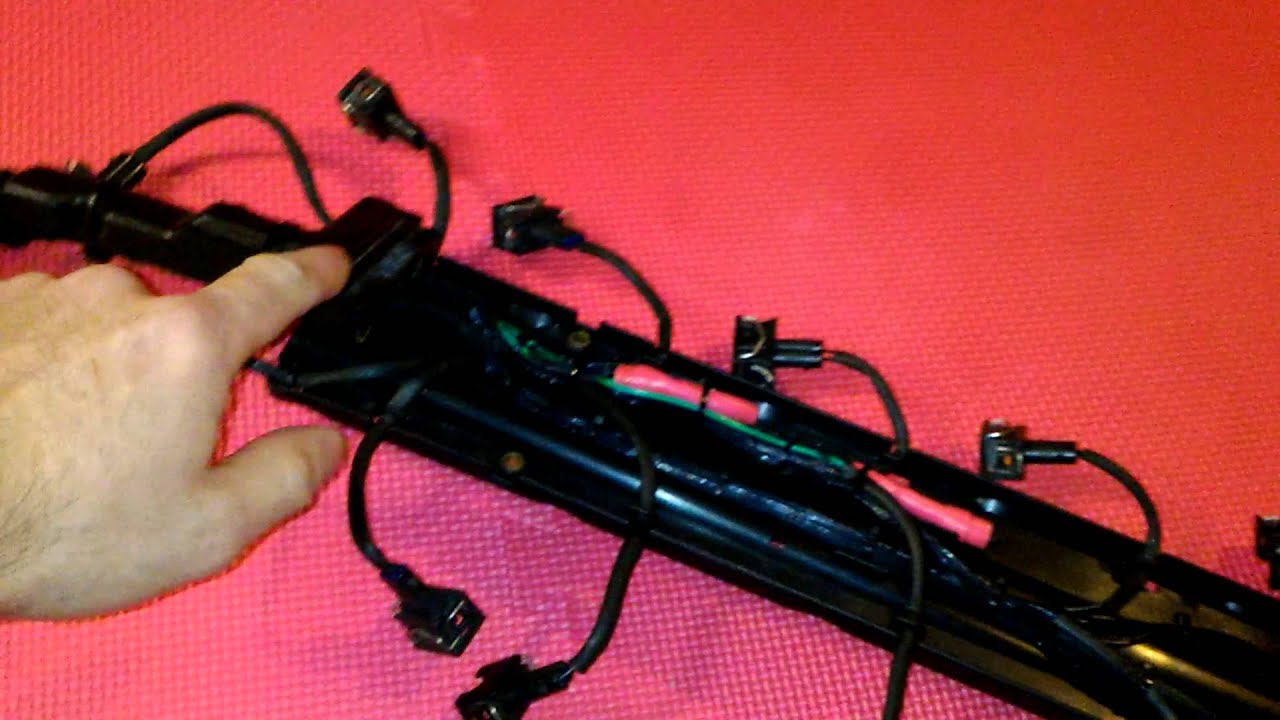 medium resolution of mercedes sl600 wiring harness repaired