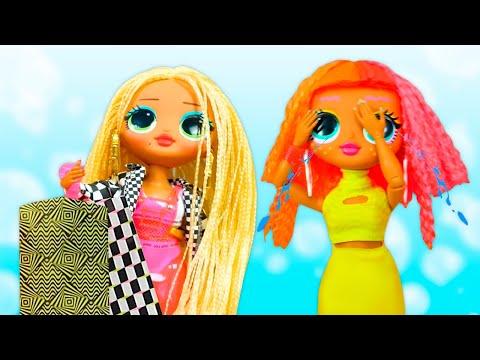 У куклы Лол пропали наряды! Распаковка Лол ОМГ. Игры одевалки для девочек. Новое видео с куклами
