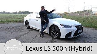 Baixar 2018 Lexus LS 500h F Sport Fahrbericht / Luxus-Alternative mit feinen Besonderheiten - Autophorie