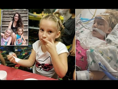 Mother films moment her daughter responds after aneurysm