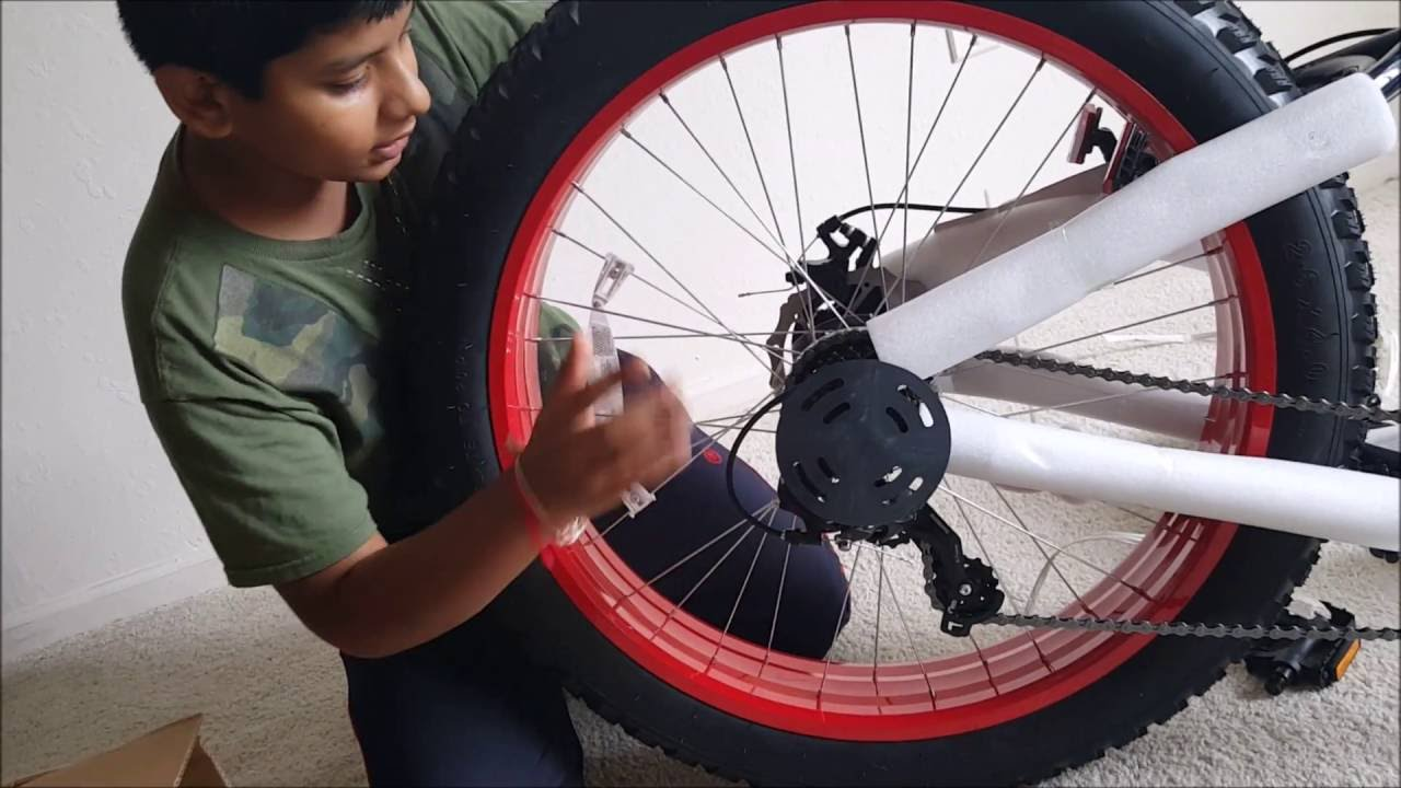 Unboxing Mongoose 26 Fat Tire Bike Youtube