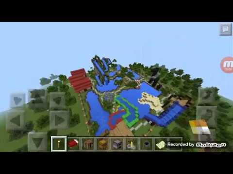 Minecraft pe Aqua park