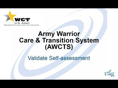 WTU Validate Self Assessment with Action Plans