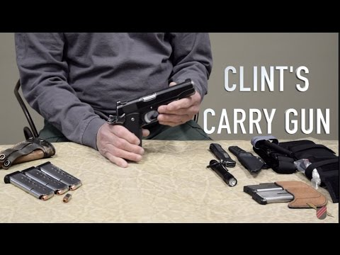 SHOW AND TELL: Episode 2 ( Clint's Carry Gun)