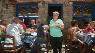 Tourists make Greek island too expensive for residents
