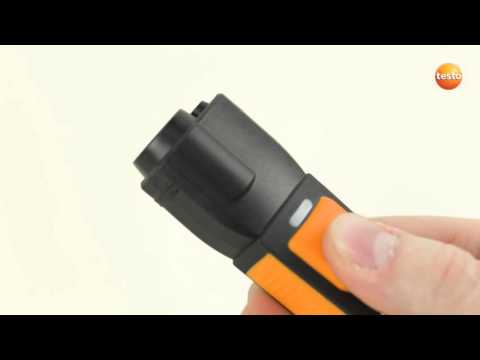 Testo Smart Probes: Carrying out an infrared measurement (8/9) | Be sure. Testo