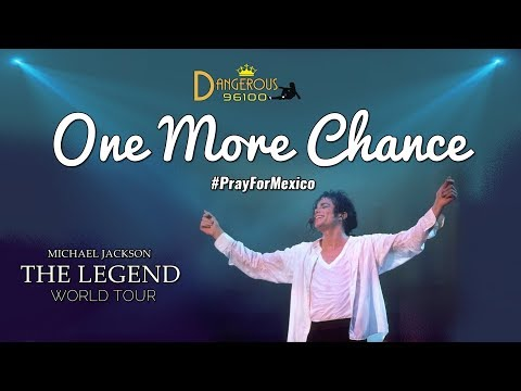 Michael Jackson - One More Chance - The Legend World Tour