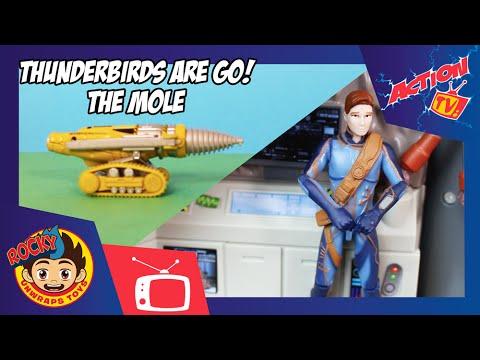 Thunderbirds Are Go! The Mole   ROCKY UNWRAPS TOYS   Action TV   ROCKY UNWRAPS TOYS   Action TV