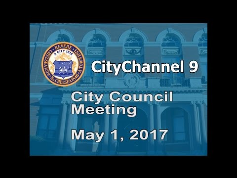 (05/01/17) City Council Meeting
