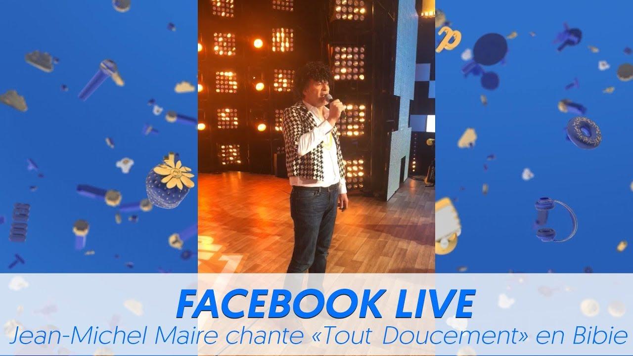 """TPMP : Jean-Michel Maire chante """"Tout doucement"""" déguisé en Bibie"""