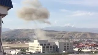 Explosion rocks Chinese embassy in Kyrgyzstan after car rams gates compound