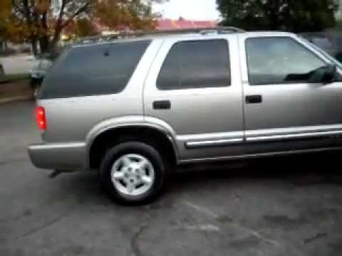 2001 Chevrolet S-10 Blazer, 4 door, 4x4, 4.3 V6, 81,000 ...