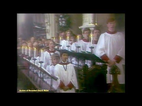 "TV ""Carols From Christ Church"": Christ Church Oxford 1983 (Francis Grier)"