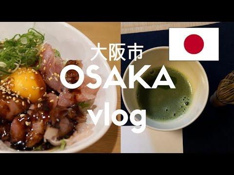 BEST Japanese Seafood in Osaka (Osaka, Japan Vlog 7)