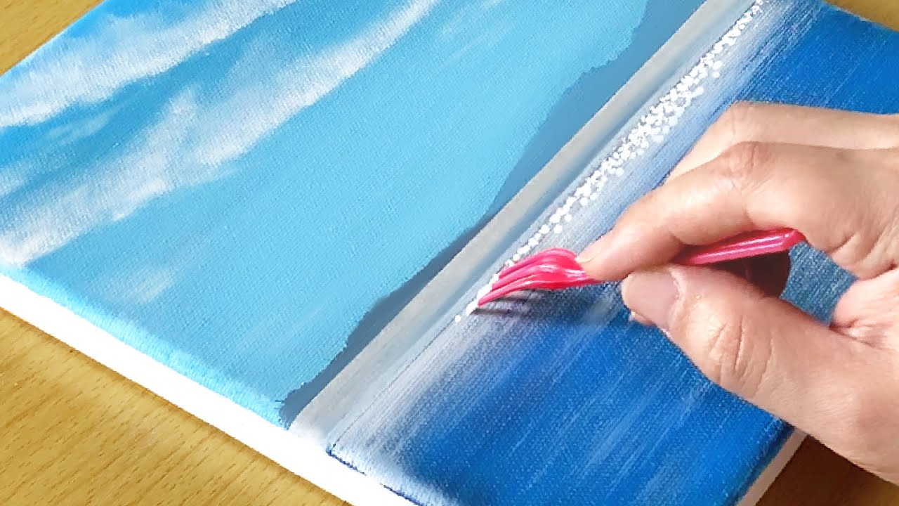 Sail Boat Painting / Acrylic Painting for Beginners / STEP by STEP #265