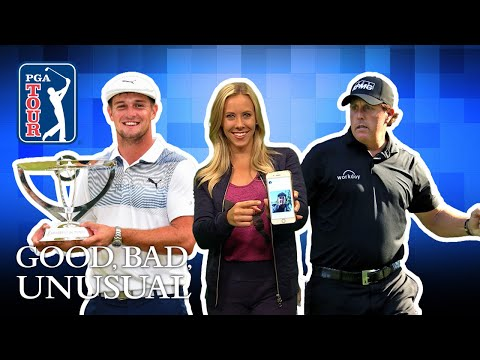 Phil joins Twitter, Bryson's swing science & Fox steals golf ball