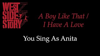 West Side Story - A Boy Like That/I Have A Love - Karaoke/Sing With Me: You Sing Anita