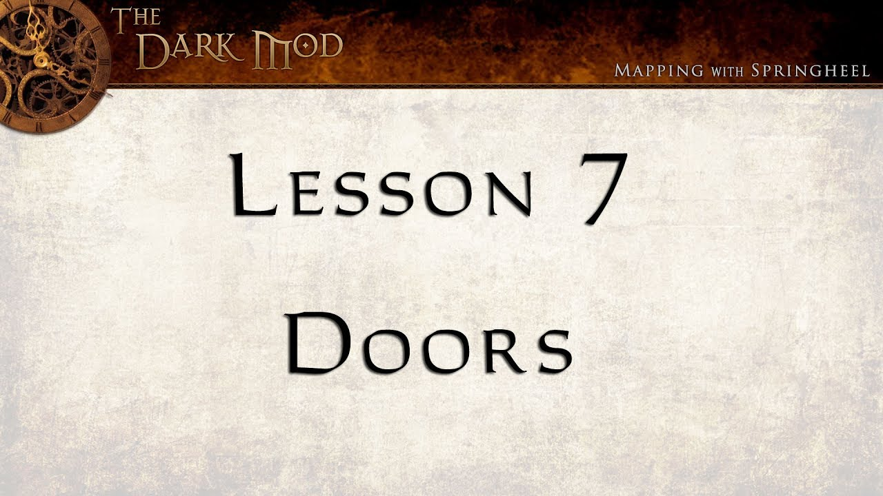 TDM New Mappers Workshop Lesson 7 & TDM New Mappers Workshop: Lesson 7 - YouTube