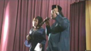 Song By MCs Alias Kadir & Masnie  SALAM LEBARAN @ MARSILING 2009 - Aidilfitri Celebrations
