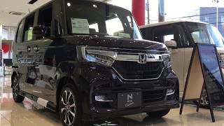 【展示車】HONDA N-BOX Custom G•EX Honda SENSING スーパースライドシート仕様(JF3)