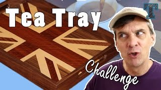 Make A Tea Tray. Woodworking Challenge Ft. Steve Ramsey From Wwmm