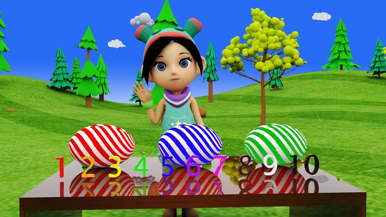 Learning Fun Baby Number And Sound Teaching for Children | 3D Kids Video | Baby3DRhymes