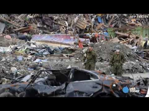 1 million tons of tsunami debris floating in Pacific
