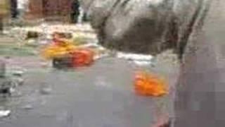 احداث الشغب في وهران 2008