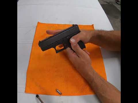 Glock 43 Weapon Disassembly How to Remove the slide and prepare to clean reassemble and some tips.