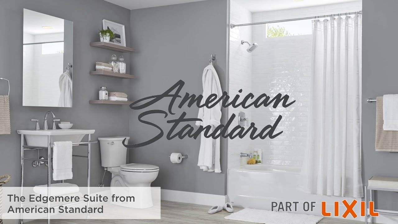 American Standard T018508.278 Edgemere Bath//Shower Trim Kit Legacy Bronze 1.8 GPM