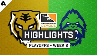 Seoul Dynasty vs Vancouver Titans | Playoffs Week 2 | Day 1 - Overwatch League S2 Highlights