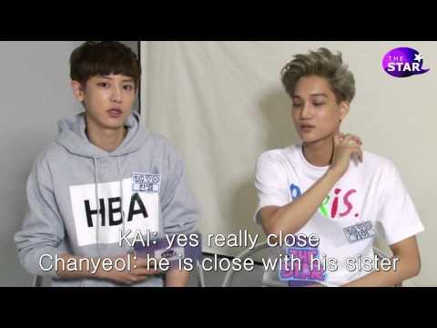 [Eng Sub] 130830 The Star Interview- EXO KAI