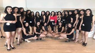 Miss India World 2017 Manushi Chhillar Meets Campus Princess 2017 Finalists