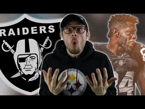 ANTONIO BROWN GETS TRADED TO THE RAIDERS!! Steelers Fans Reaction!
