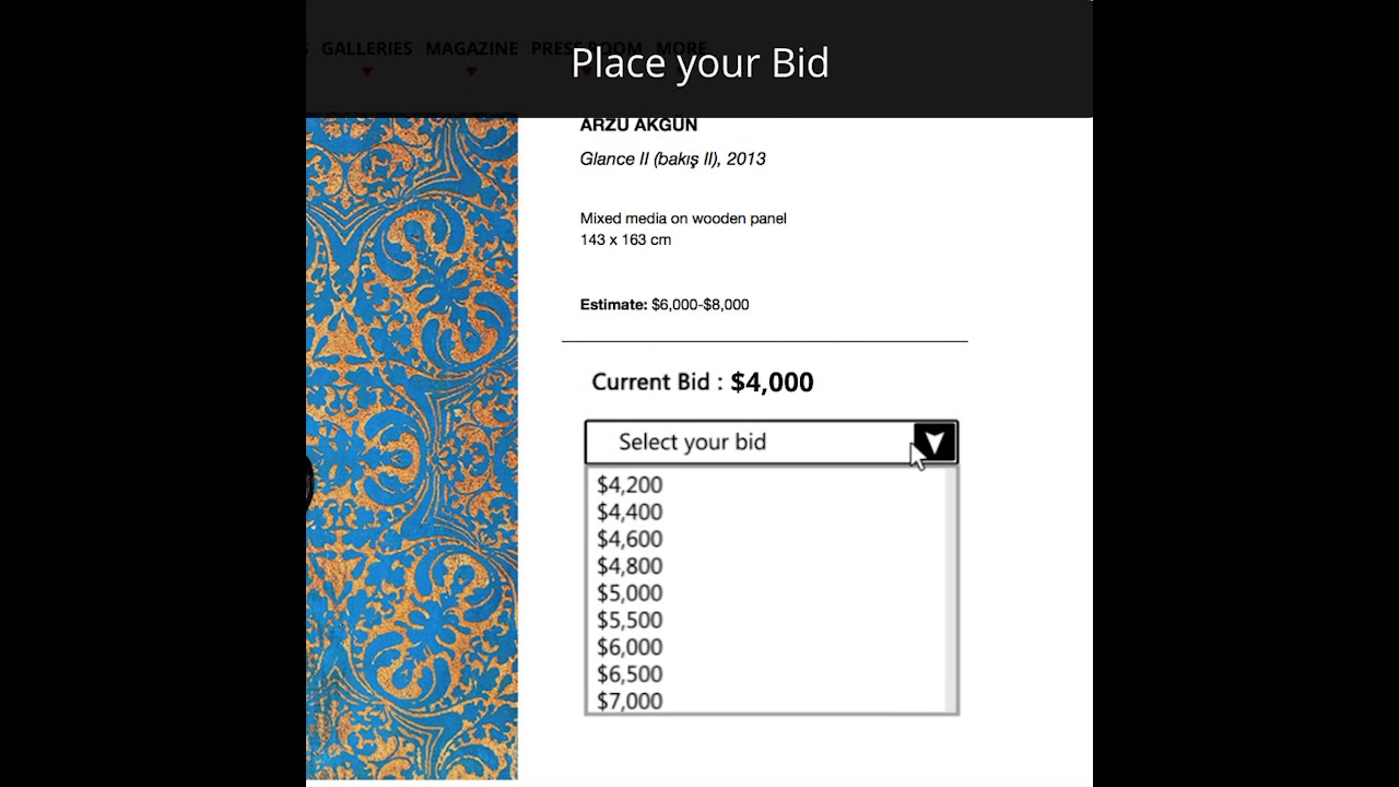 How to Bid in Online Auctions recommendations