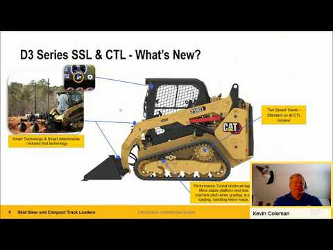 Cat® At Home Series – Skid Steer And Compact Track Loaders With Product Specialist Kevin Coleman