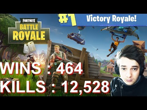 [FR/PC/LIVE] Fortnite en solo 464 wins!