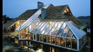 видео: Солнце (через крышу) дом отапливает ночью: Пассивное солнечное отопление