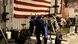 Elitefts.com - Deads off Blocks with Chains