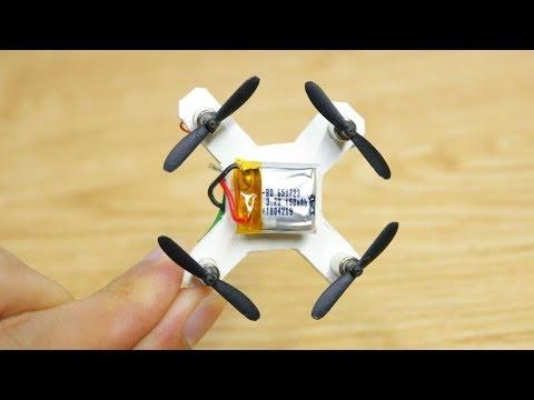Chế tạo máy bay điều khiển mini